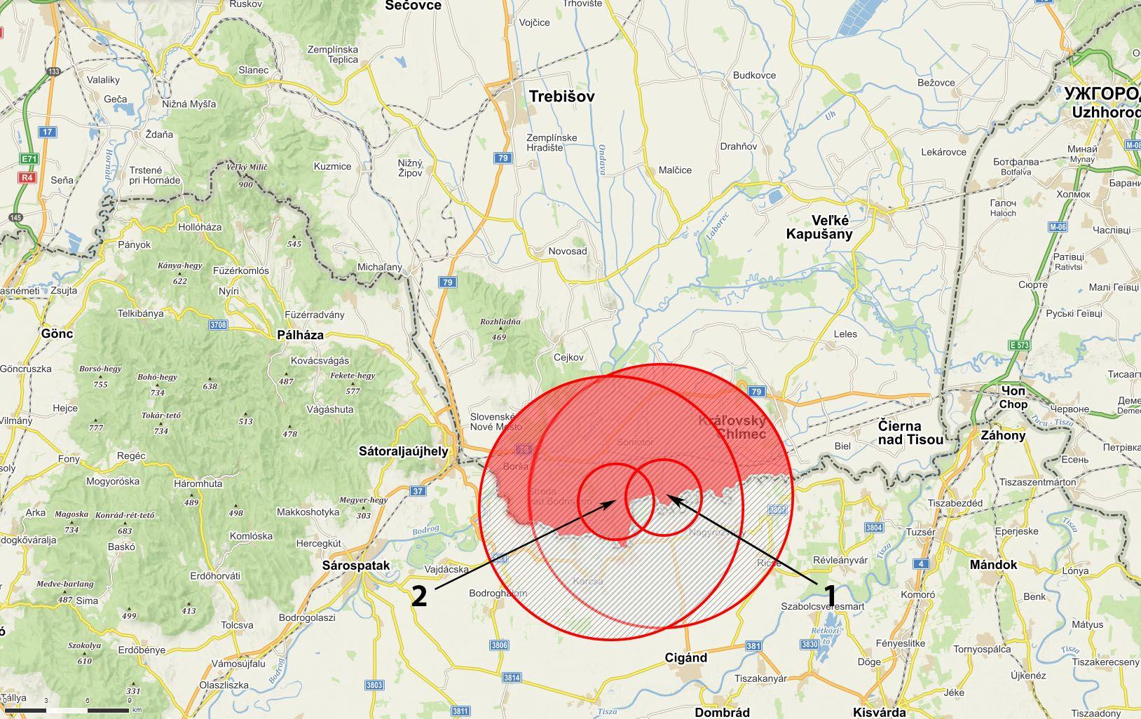 Mapa AMO